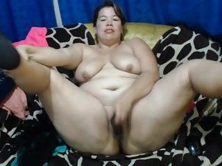 Mexican Mature EilianaXx Masturbating In Her Day-bed - ANALDIN