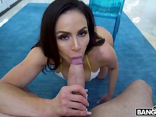 Fantastic MILF with spectacular big bubble ass Kendra Lust is poked from behind
