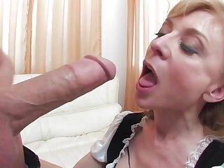 Nina's Maid To Throbbing - nina hartley hard sex video