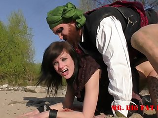 Alice Kinkycat Pirates Of The Pussybay Outdoor Sex