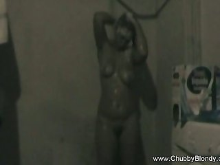 Shower With Chubby Amateur so Fucking Amazing with regard to Lovemaking