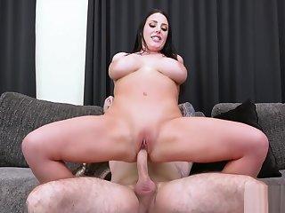 Anal, Babe, Big tits, Blowjob, Brunette, Fucking, Hardcore, Horny, Tits,
