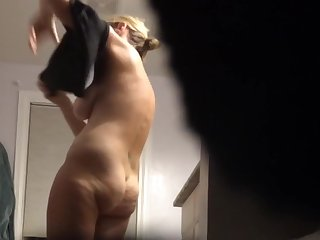 Big tits, Blonde, Hairy, Milf, Tits, Wet, Wife,