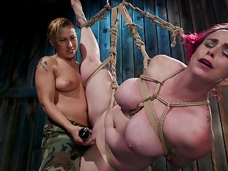 Wild kinky Fox Acecaria is into enslavement and hardcore lesbian sex