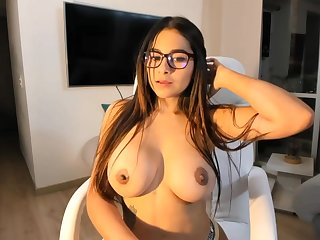 Big-Boobed black-haired says that she is a junior sista of Mia Khalifa, unsurpassed a feign hornier