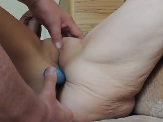 Beautiful old chick needs cock in her pain in the neck