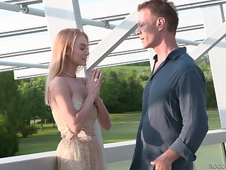 Hot indulge Nancy Ace seduces dude and treats him with a nice blowjob