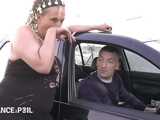 Polar France A Poil - Sleezy Blonde Whore Fucks For Pay Approximately