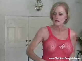 Having a estimable time with granny Wicked Sexy Melanie