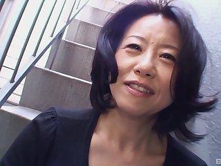 Mature Japanese wife Junko Sakashita enjoys getting fucked