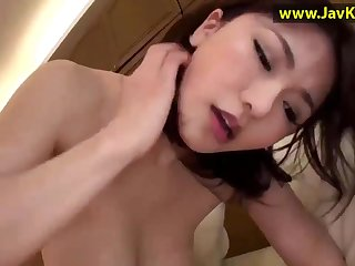 Lewd Asian violently sizzling sex blear