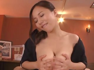 Best POV titty fuck with big-breasted Asian Saijou Ruri