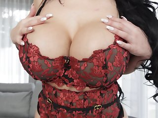 Fine mom undresses on cam for the most fanatically addictive merely