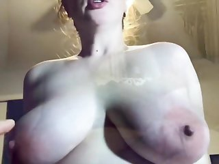 Cum Hungry Amateur Fucks And Begs To Shrink from Covered In Jizz Pov