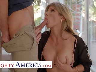 Mammy Cory Chase wants dick and Lucas is there to hump her!!