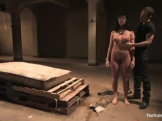 Pleasing Satine Phoenix is making out in BDSM porn