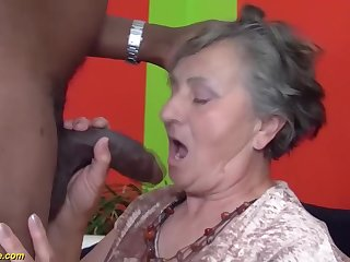 80 discretion venerable grandmother very first multiracial